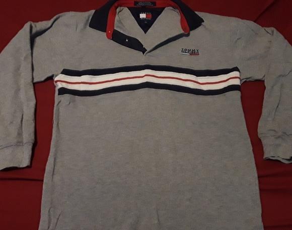 df5dd717 Tommy Hilfiger Shirts | Mens Polo Style Shirt Large | Poshmark